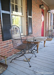 Our Very Neglected Front Porch plus a Front Porch Decorating Plan: Come see the plan for how to update a front porch with lots of outdoor decorating ideas! // 3 Little Greenwoods