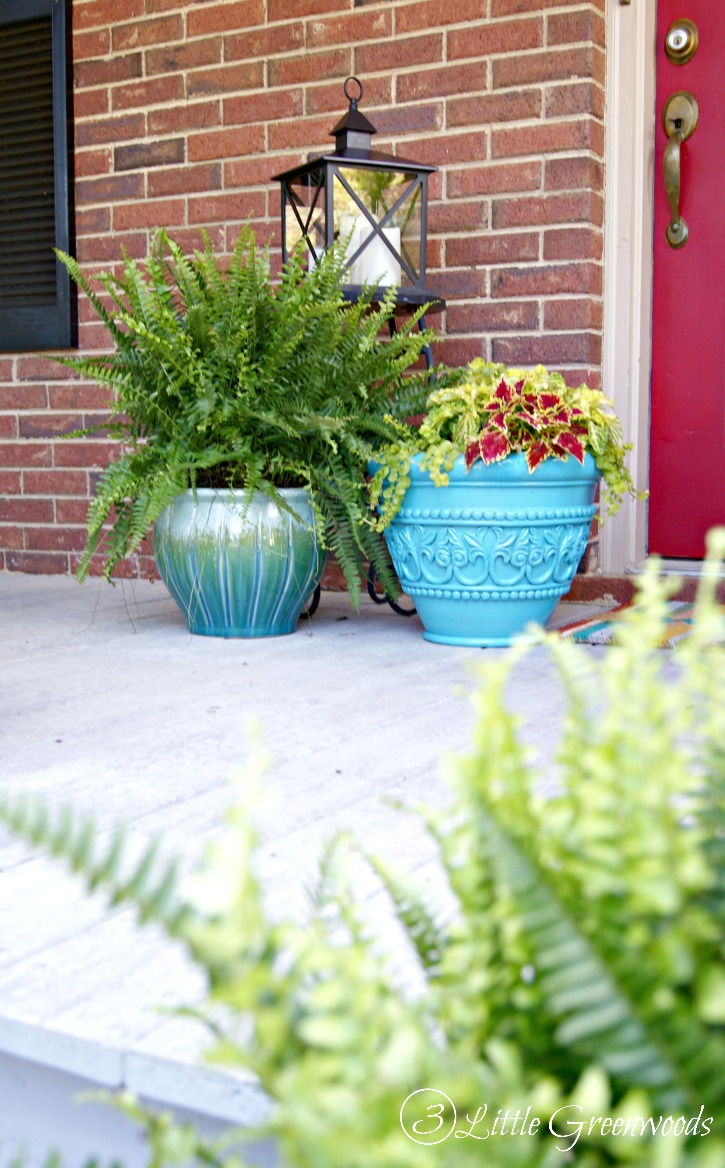 Love the look of a Southern front porch? Here's how to decorate porches with front porch ideas and inspiration you can do all on a budget! From choosing the best plants to easy DIY porch projects follow these tips to style the front porch you've always wanted! // 3 Little Greenwoods