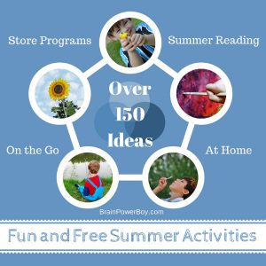 Fun and Free Summer Activities for Boys Roundup from Brain Power Boy