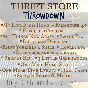 Thrift Store Throwdown Blog Hop Button