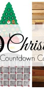 Start a new Christmas tradition is year with a Christmas Countdown Calendars! It's a family friendly Christmas activity that your children will always remember!