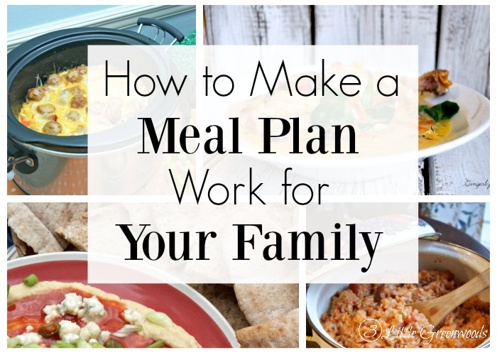 3 Secrets to how to make a meal plan work for your family!