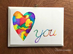 DIY Valentine Decor || Valentine's Day Gift || Watercolor Art