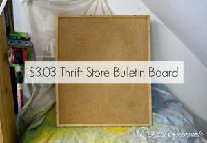 Fabric Covered Bulletin Board || DIY Fabric Covered Bulletin Board Tutorial