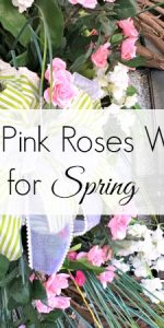 How to make a Pink Roses Wreath || Spring Pink Rose Wreath || Pink Rose Easter Wreath || Spring Wreath with Pink Roses