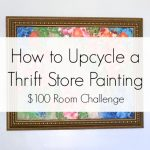 How to Upcycle a Thrift Store Painting