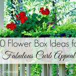 How to Add Fabulous Curb Appeal with Flower Box Ideas