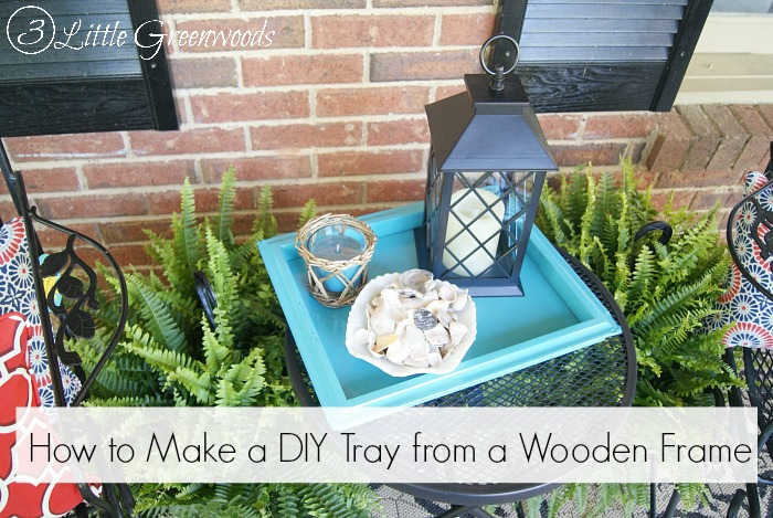 Chicken Wall Art to DIY Tray {Thrift Store Decor Upcycle Challenge}