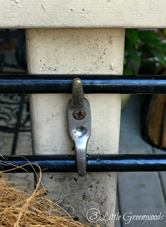 How to install a trough planter on your front porch railing