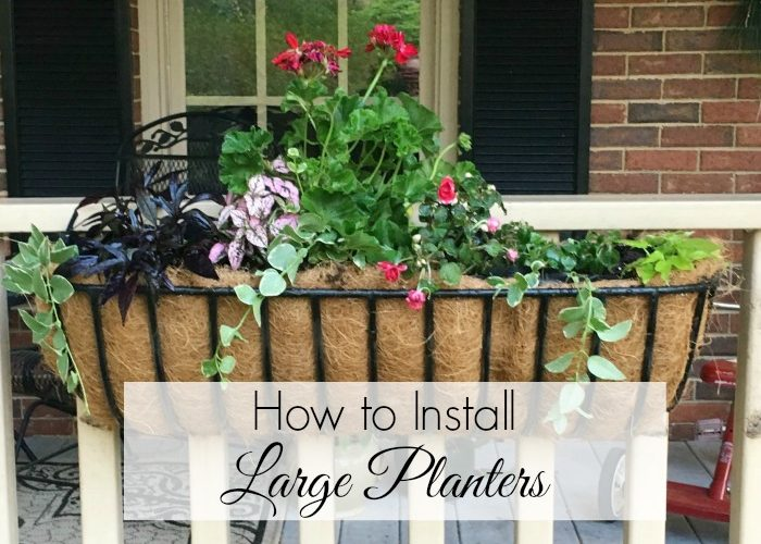 How to Install a Trough Planter