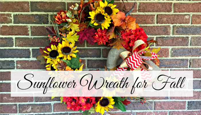How to Make a Sunflower Wreath for Fall