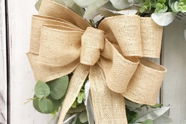 Perfect Farmhouse Style with Lambs Ear Wreaths