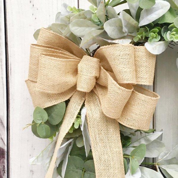 Perfect Farmhouse Style with Lambs Ear Wreaths