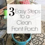 How to Clean a Front Porch in 3 Easy Steps