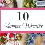 10 Fabulous Summer Wreaths For Your Front Door