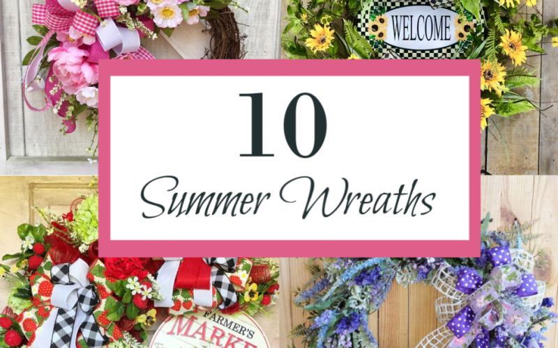10 Fabulous Summer Wreaths For Your Front Door