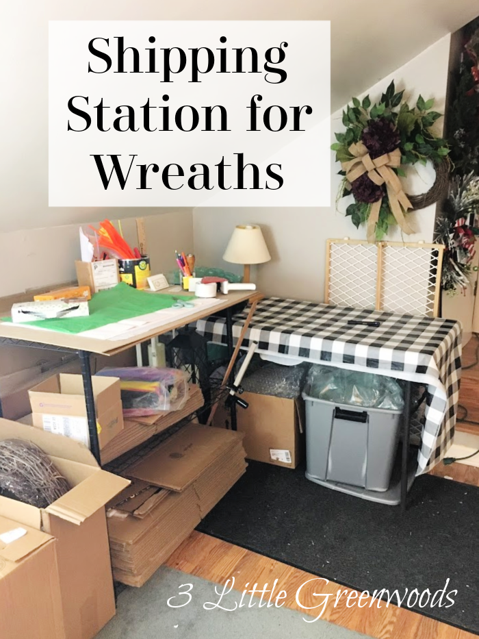 MUST HAVE tips to Organize Wreath Making Supplies in your Creative Workshop! Running succesful a Wreath Making Business begins with knowing what supplies you have on hand. Follow along as I organize my wreath making supplies and set up my wreath making workshop area.